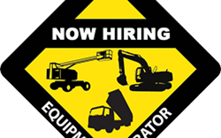 Decal for equipment operator